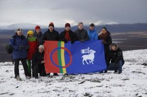 Budkalven från Ojnare i Sápmi